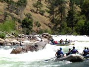 Rafting in Himalayas